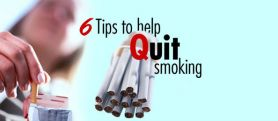 6 Tips to help quit smoking